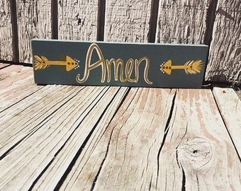 Amen sign!