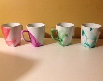 Water Color Coffee Mugs