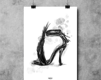 Poster FEATHER 30X40