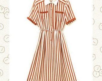 Original vintage midi dress