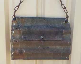 Garden Sculpture - Handbag Wall Hanging