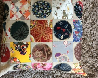 Japanese fabrics cushion cover