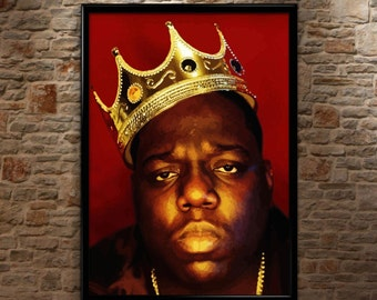 Biggie Smalls, Notorious BIG, Luke Cage, Huge, High Quality, Poster Print Art A0 A1 A2 A3+