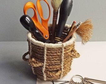 Little Natural Rope Basket Kit