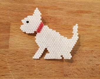 West Highland White Terrier pin