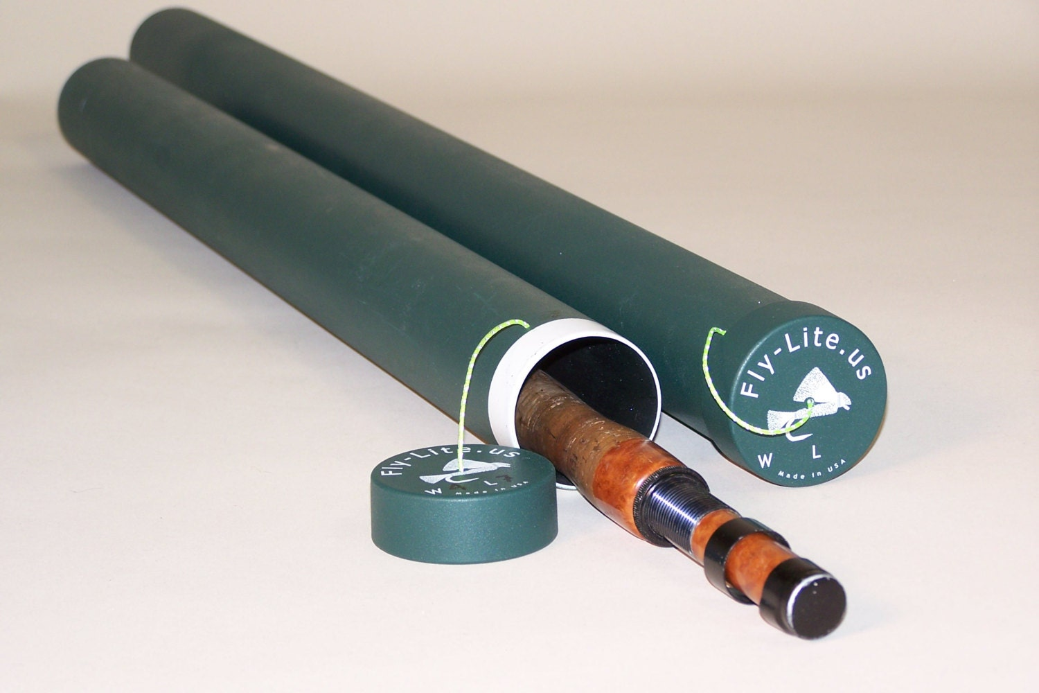 Lightweight fly rod case 32 for Fishing rod case