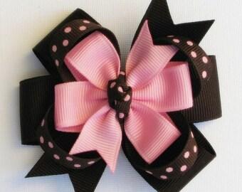 Pink polka Dot handband