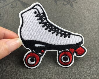 skating shoes patch embroidered patch iron on patch sew on patch
