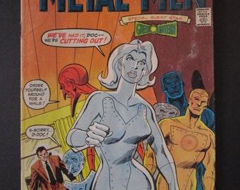 Metal Men #54 Vol. 14 Oct-Nov 1977 DC comics, special guest star Green Lantern VG+
