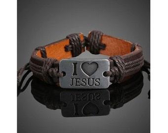 Jesus rope bracelet