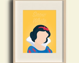 Disney Princess - Snow White Print