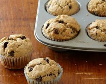 Lactation Muffins (chocolate chip)
