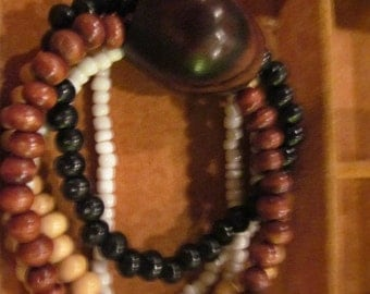 Earthtone Beaded Bracelets