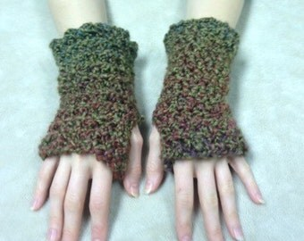 Crochet Fingeless Gloves - Soft and Toasty Wrist Warmers