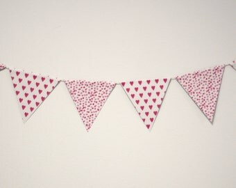 Pink Patterned Bunting