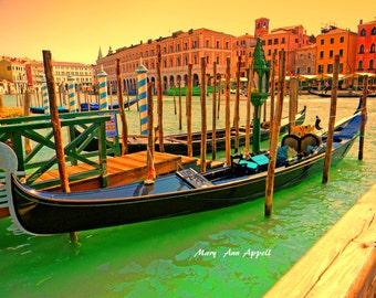 Photography  Venice Your Gondola is Waiting