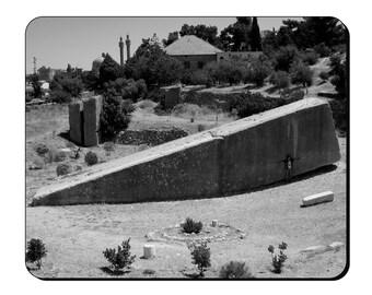 Mouse Mat - Baalbek - Ancient Site (Baʿalbek, Baalbec, Baalbeck) Mouse Pad AS105