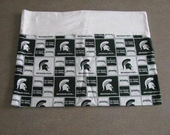 Michigan State pillowcase
