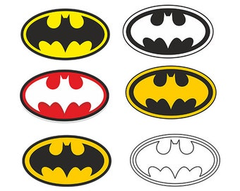 Batman logo svg - batman svg - batman clipart svg, dxf, eps