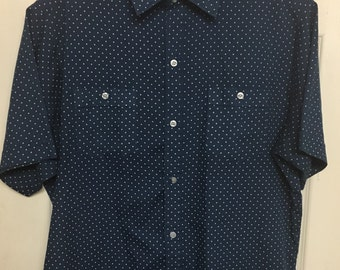 Mens Vintage Sears Button Up