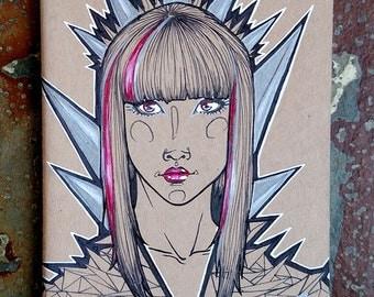 """Moleskine Sketchbook """"Shards"""""""