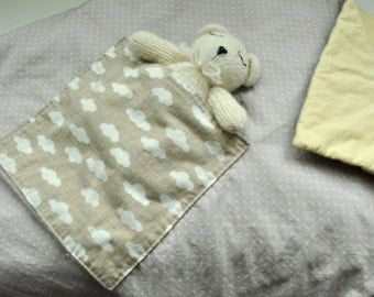 Beige and Yellow Baby Duvet