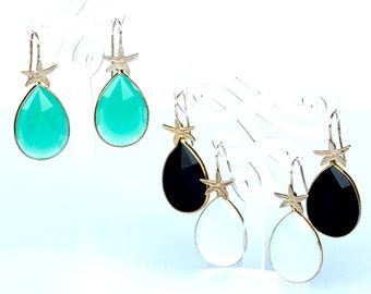 Dew drops earrings
