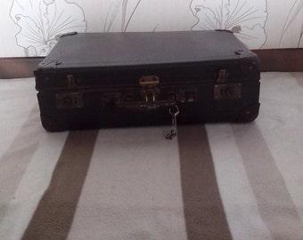 Suitcase Brown vintage, 60