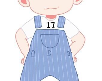 SEVENTEEN Woozi Keychain