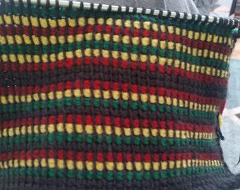 Rasta Tunisian Crochet Halter Top