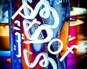 What does Diet Coke look like in Arabic?