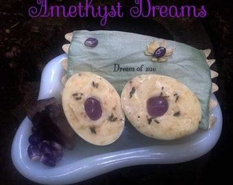 Amethyst dreams cold press soap