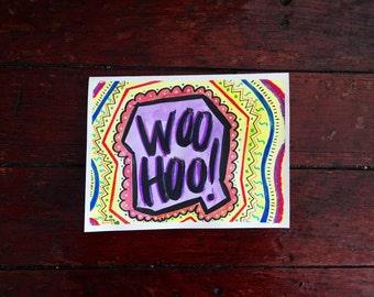 Handmade card | blank inside