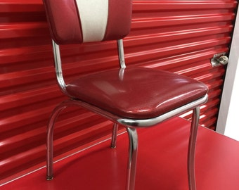 Red Retro Diner Chairs