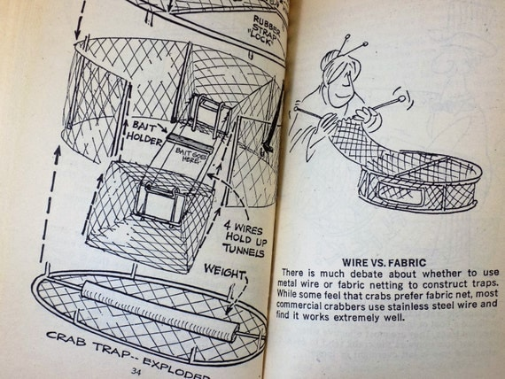 how to catch crabs book