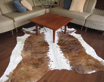 Tri-colour Nguni hide rug