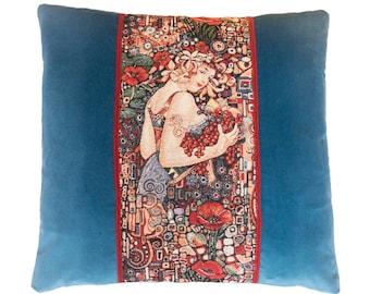 Pillow of Freyja the Blue