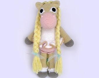 Horse Amigurumi Toy PATTERN