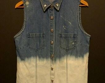 Handmade Ombre Vest