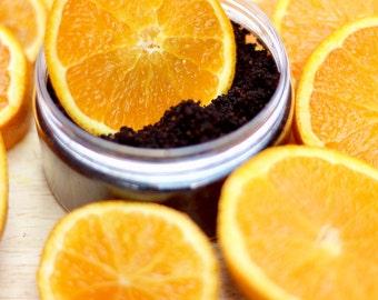 Chocolate Orange Coffee Scrub