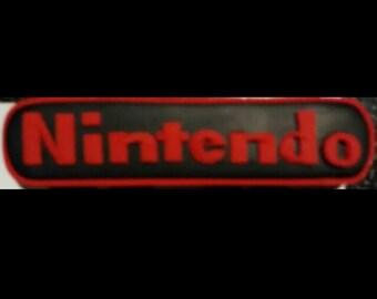 Nintendo clay magnet