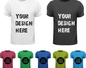 Custom Branded T-shirts DTG PRINTING