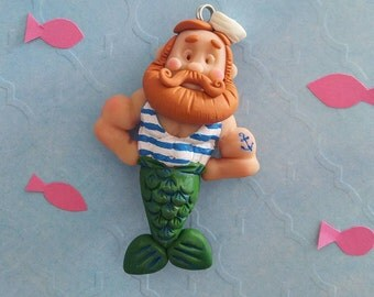 Merman /Sailor ornament