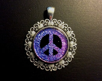 Peace Sign Pendant 1333