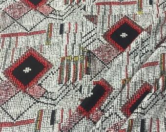 100% Rayon Jersey Knit Obsidian Print