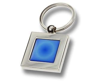 Radiant Blue Keyring