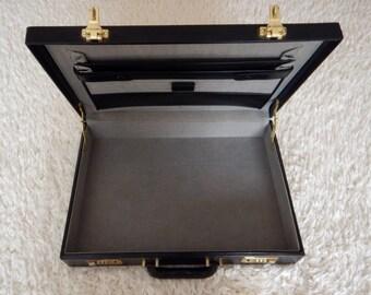 Vintage Jaguar leather briefcase