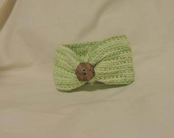 Crocheted Newborn Headband
