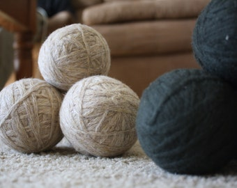 RECYCLED Wool Dryer Balls