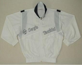 Sergio Tacchini Jacket Sergio Tacchini Windbreaker Vintage Sergio Tacchini Tennis Jacket Lightweight